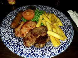 Mixed Grill was a Manager's Special when I visited - £3.99 - amazing value