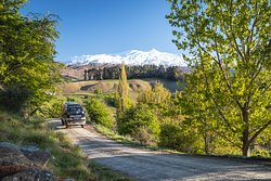 A guided drive to the range showcases the amazing scenery of the Wakatipu Valley