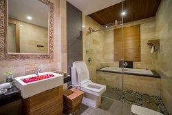 Bathroom at premier & luxury room