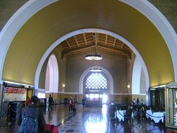 View of information desk - Union Station