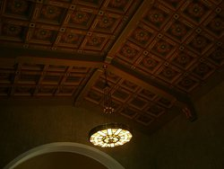 Exquisite ceiling panels - Union Station