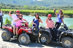 Quad & Buggy Safari at Koprucay River in Side Turkey