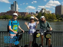 "THE #1 TOUR on #tripadvisor that brings #family together & creates lasting #memories. #Boston #Segway #Tours ""best way to see the city"" 😎www.bostonsegwaytours.net"