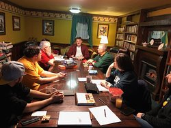 Meeting at the Ravenwood Library for LexiCon Tabletop Gaming and RPG Convention.