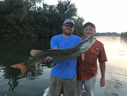 Tennessee Muskie Fishing Guide