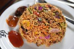 Mongolian style noodles