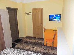 Двухместный номер с одной кроватью и собственной ванной комнатой