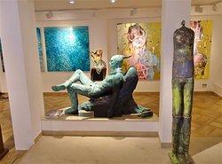Art on display....gorgeous!