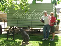 Guests from Daylesford, Australia at Daylesford Organic Farm Shop.