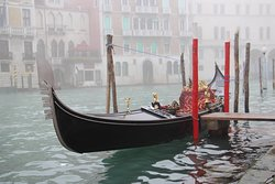 Grand Canal in the fog