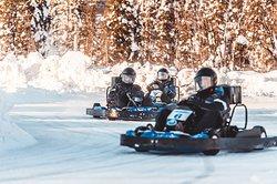 Ice Karting Levi