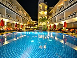 Swimming pool at the 3rd floor