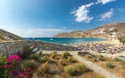 Solymar Beach Restaurant Mykonos, On the Beach!