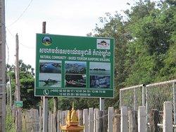 Panneau indiquant l'entree du village