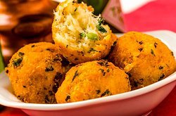 Our famous cod fish croquette. Yummiii