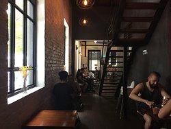 WIFIありのお洒落なカフェ
