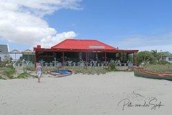 Voorstrandt Restaurant on the beach
