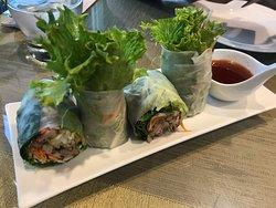 A delicious Thai restaurant.