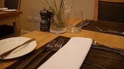 Modern British Cuisine in contempory surroundings