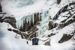 Ice Climbing in Lyngen Alps