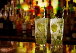 Mojitos at The Mint Bar