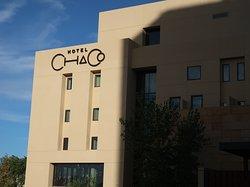 Chaco is actually connected to Hotel Albuquerque.