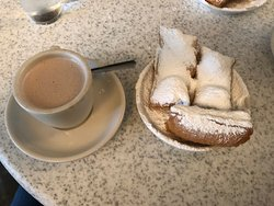 Mouth watering beignets