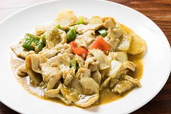 Chicken with Curry Sauce