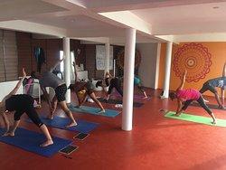 Astanga Primary Series. Led-class at Yogadarshan. January 2019