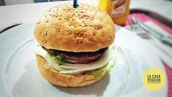 Classic American All-beef Hamburger