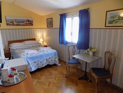 Classic Double Room with ensuite bathroom and balcony
