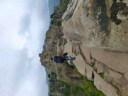 At Mount aboune josphe