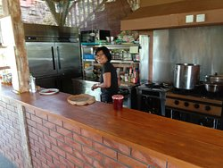 kitchen opened
