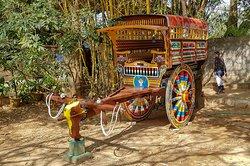 Decorated cart