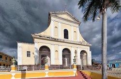 La Iglesia de la Santísima Trinidad en la Plaza Mayor