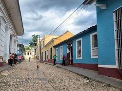 Calle típica de Trinidad
