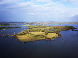 This is why our property is called island mary (the property becomes an Island in winter)