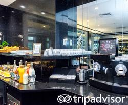 Breakfast Room at the Maison Albar Hotel Opera Diamond, BW Premier Collection