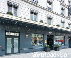 Entrance at the Maison Albar Hotel Opera Diamond, BW Premier Collection