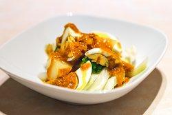 GADO GADO Indonesian salad with tofu, boiled egg, and peanut sauce