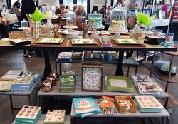Lovely display of birthday themed items