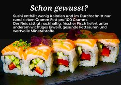 Sushi macht fit