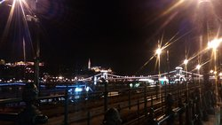 Nightlights by the Danube