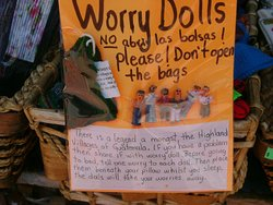Worry dolls for you! - Olvera Street