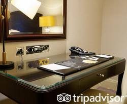 The Deluxe Double Room at the JW Marriott Grosvenor House London