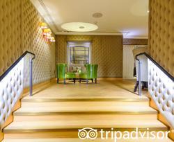 Lobby at the JW Marriott Grosvenor House London