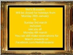 imagen Neil's Brasserie en Benidorm