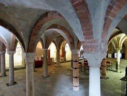 Vista della cripta