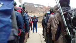 course briefing at Auli SDRf Uttarakhand