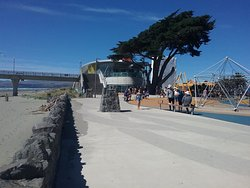 Along the Promenade at New Brighton Beach Christchurch N.Z.